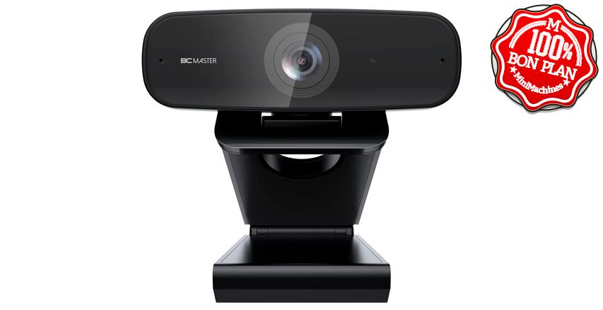 Webcam BCMaster FullHD avec double micro stéréo