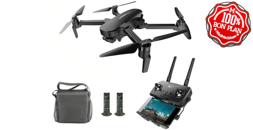 Kit Drone Hubsan ZINO PRO + commande + 2 batteries + sacoche