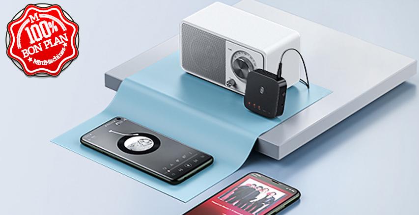Émetteur / récepteur Bluetooth 5.0 TaoTronics Pro AptX