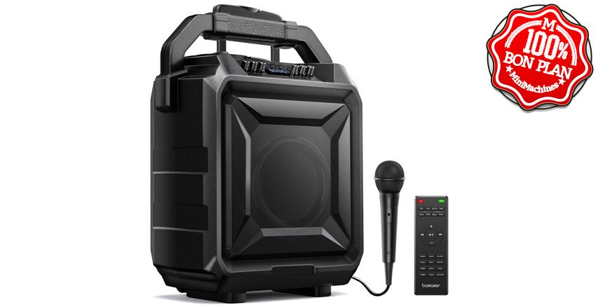 Sono portable Bomaker Karaoke / ampli / HP Bluetooth et radio FM