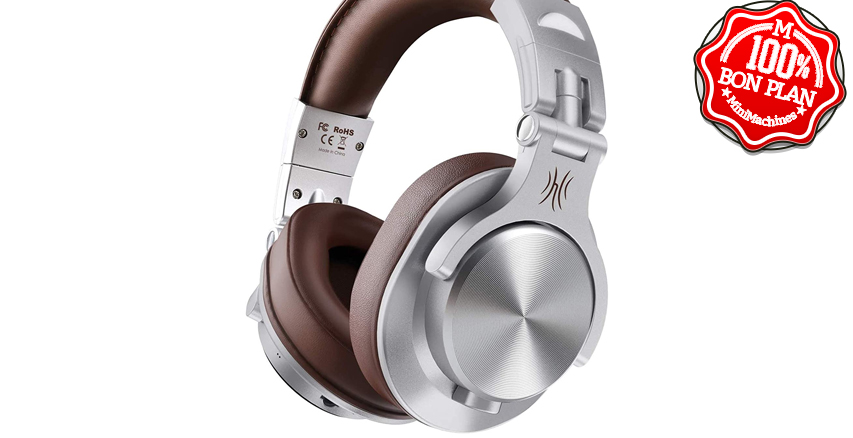 Casque mixte Bluetooth / filaire OneOdio A70