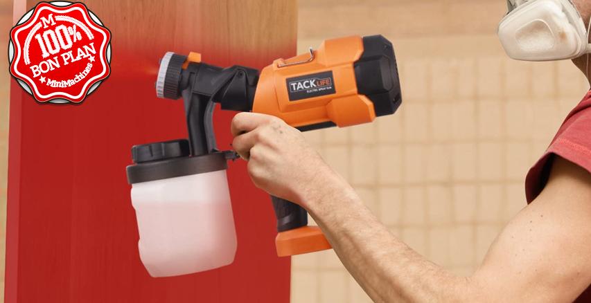 Pulvérisateur de peinture électrique Tacklife SGP15AC