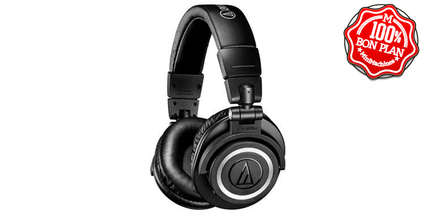 Casque Audio-Technica ATH-M50xBT Bluetooth