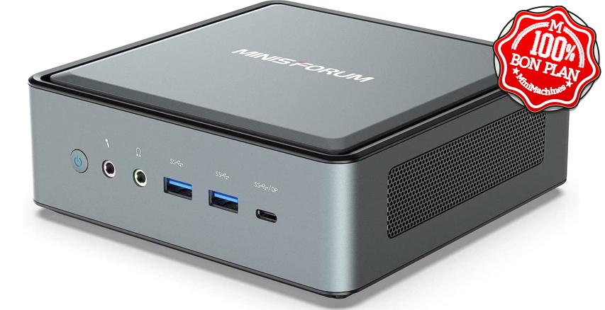MiniPC Minisforum HM50 Ryzen 5 4500U 16/512 Go