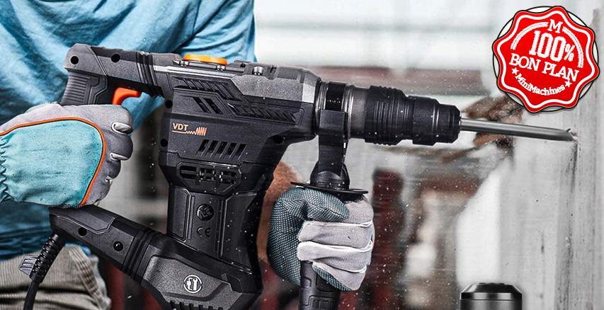 Perforateur Tacklife TRH02A 1050W SDS-PLUS avec accessoires