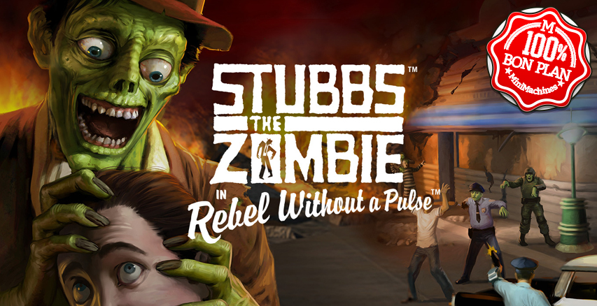 Jeu PC : Stubbs the Zombie in Rebel Without a Pulse