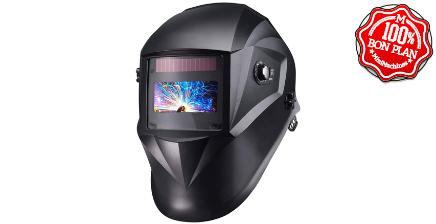 Masque Soudure à obturation automatique