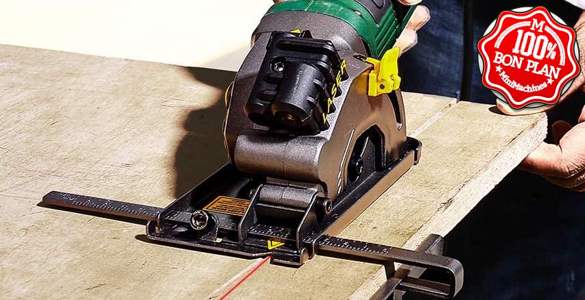 Scie Circulaire TECCPO 580W 3500RPM 85mm TAPS22P