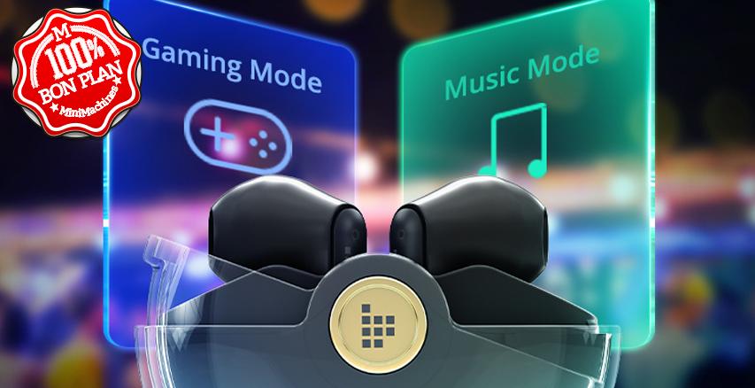 Ecouteurs Bluetooth Tronsmart Battle Gaming