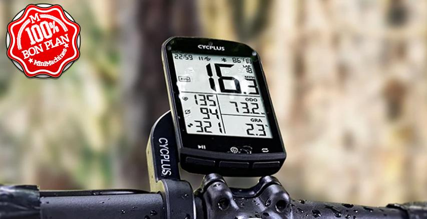 Ordinateur de vélo Cycplus M1 Mini avec GPS