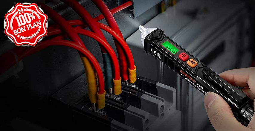 Détecteur de Tension sans Contact 12V/48V-1000V
